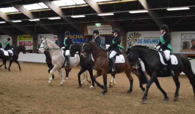 Paardensport in de Flevomanege.