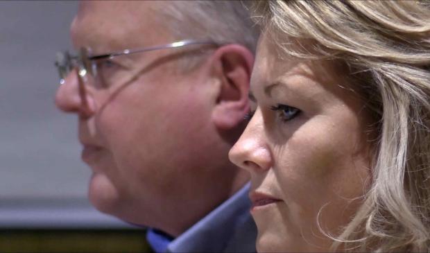 <p>Rob van de Schans en Lazise Hillebregt (D66)</p>