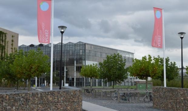 <p>Aeres Hogeschool Dronten.</p>