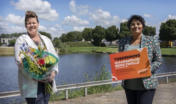 Alette van de Berg en Irene Korting