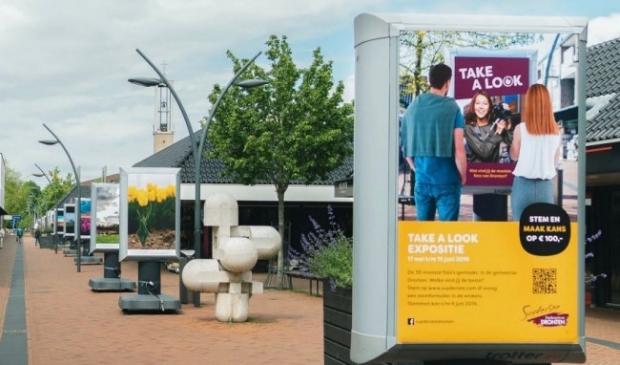 Foto-expositie in winkelcentrum Suydersee.