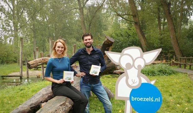 Rosanne van der Wolf en Mark Broeze.