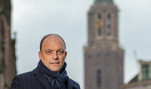 <p>Burgemeester Peter Snijders van Zwolle</p>