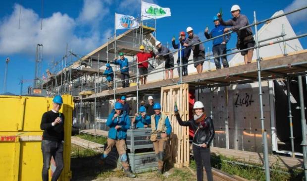 Woningbouw in Dronten: het hoogste punt van het OFW-project aan Het Palet.