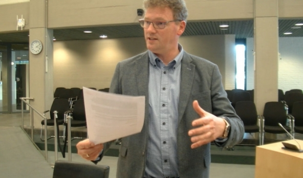 Centrummanager Leo Hoksbergen
