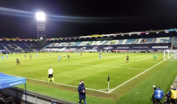 <p>PEC Zwolle-Heracles Almelo eindigde in 2-2 na een 0-2 ruststand.</p>