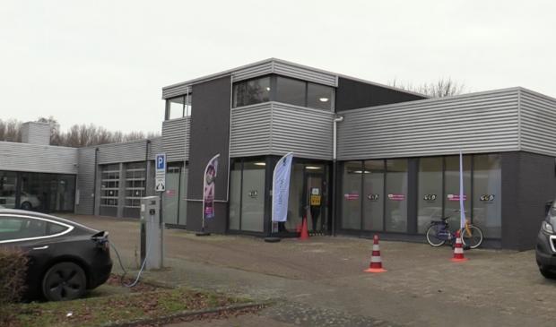 De locatie van de GGD aan de Schroefstraat in Lelystad.