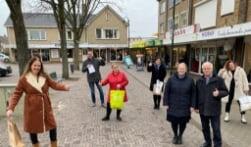 Markeresplein IJsselmuiden tijdens lockdown