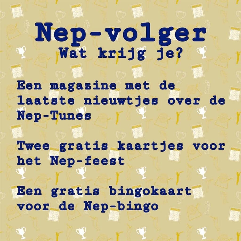 De oproep... Nep-Tunes