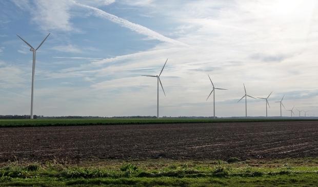 <p>Windmolens aan de Kokkelweg.</p>