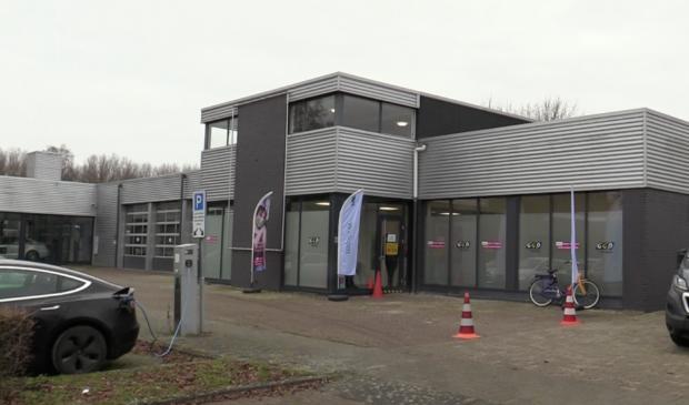 <p>De locatie van de GGD aan de Schroefstraat in Lelystad.</p>