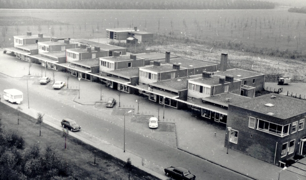 <p>Het winkelcentrum in Biddinghuizen.</p>