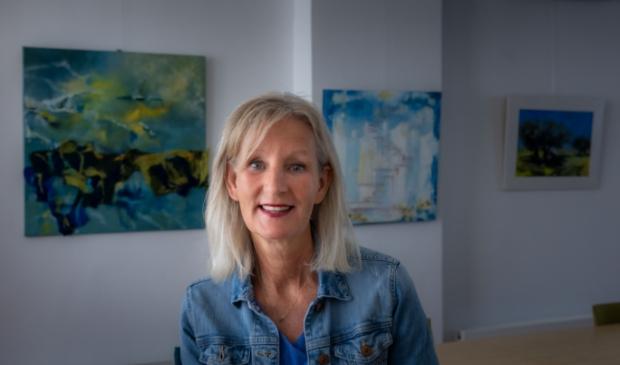 Kampen - Anneke van der Velde van de Vrijzinnige Hervormden aan de Vloeddijk in Kampen. Foto Freddy Schinkel, IJsselmuiden © 310821