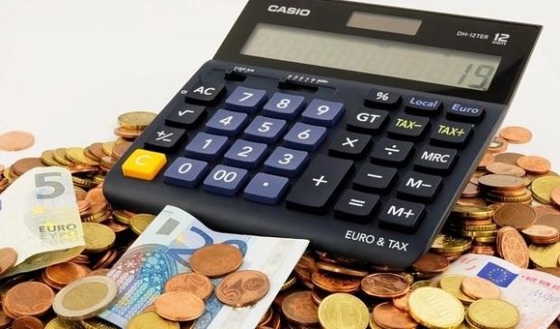 Veel werk in de financiële sector.