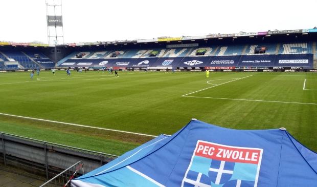 Het Mac3Park stadion van PEC Zwolle