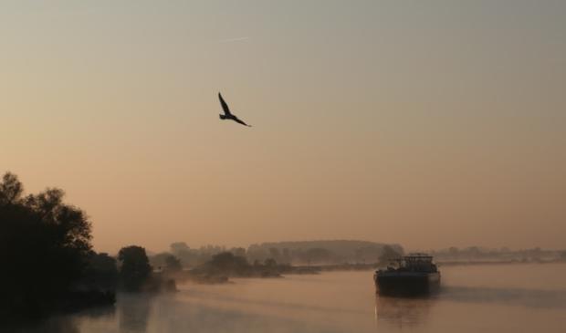 De IJssel bij Kampen