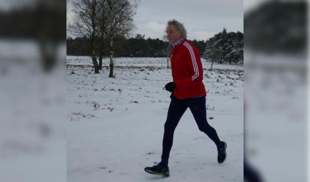 <p>De nieuwe voorzitter Johan Nieuwland is zelf een hardloopliefhebber.</p>