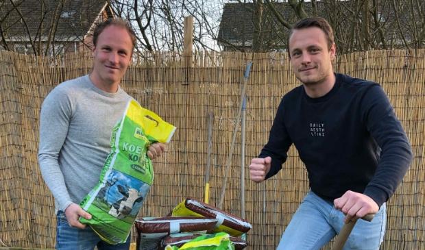 Sjon Venhuizen en Peter van Voorst van Qliq.