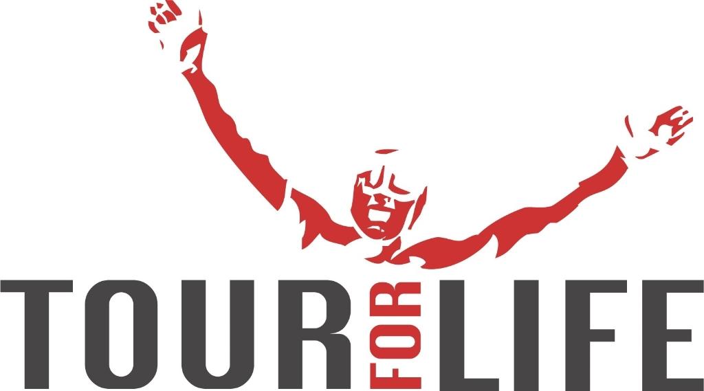 <p>Tour for life logo</p>
