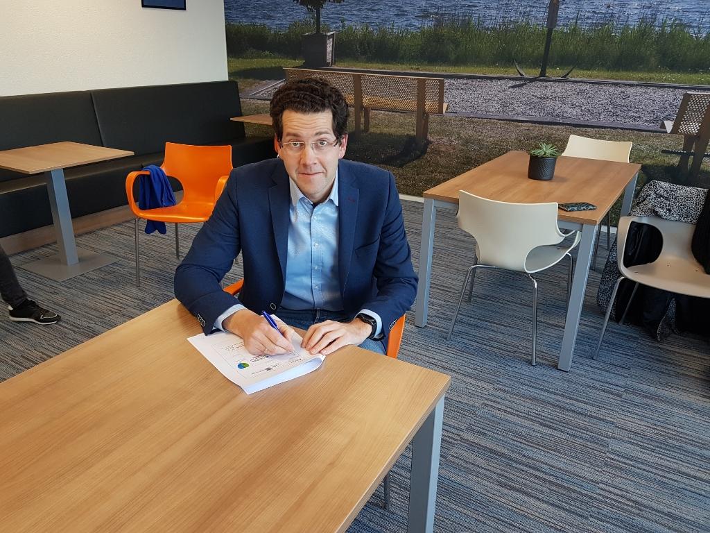 Peter Hulstein, Stichting Ante Zeewolde Actueel