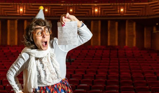 <p>Ilse Horstman in theater de Spiegel.</p>