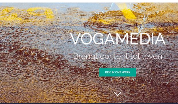 De website van VogaMedia.