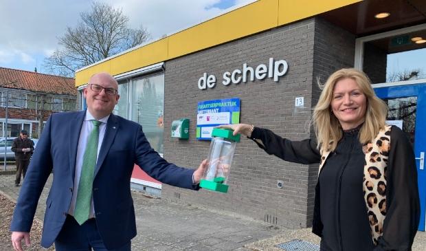 Peter van Bergen en Karoline Tiggeler.