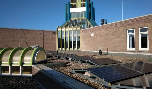 Dak Open Haven met zonnepanelen
