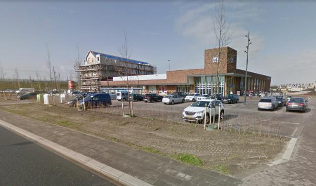 De stationsomgeving in Kampen Zuid.