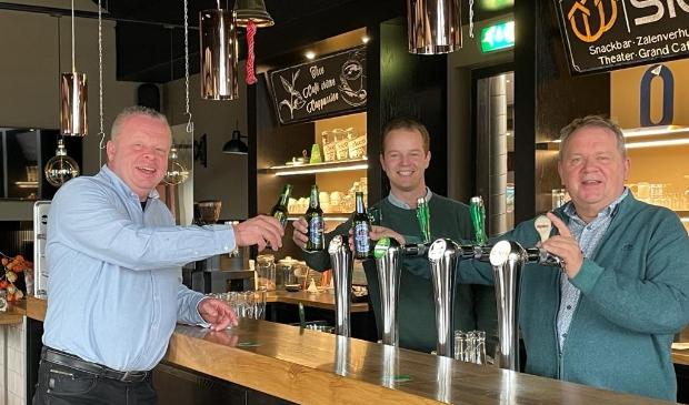 V.l.n.r.: Ronald van Uden (ICZ), Floyd Bolland (Heineken) en Cees de Jong (ICZ).