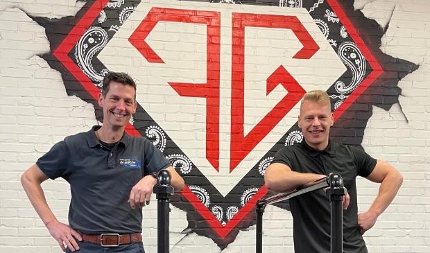 Patrick Vos (links) en Patrick Schurink (rechts)