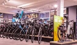 Zwolle heeft er een superdeluxe fietsenwinkel bij