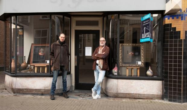 Bastiaan Postma en Herman IJssel