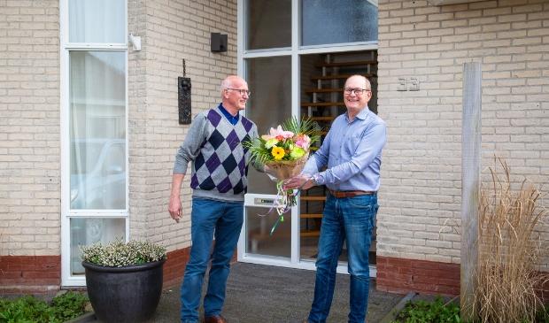 Piet Bleeker en Cor Klaver.