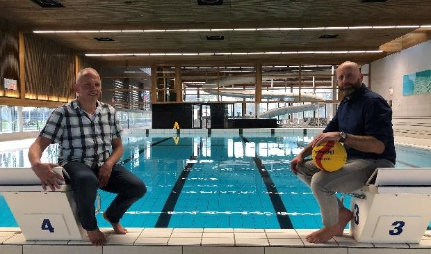 <p>Gerard Welten (l) en Dennis Wildeboer.</p>