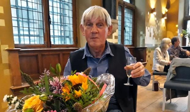 Jan van Driel bracht bij de opening in oktober een toost uit