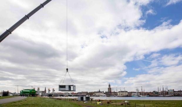 <p>Aan het einde van het jaar wordt het paviljoen weer net zo snel afgebroken als het werd opgebouwd.</p>