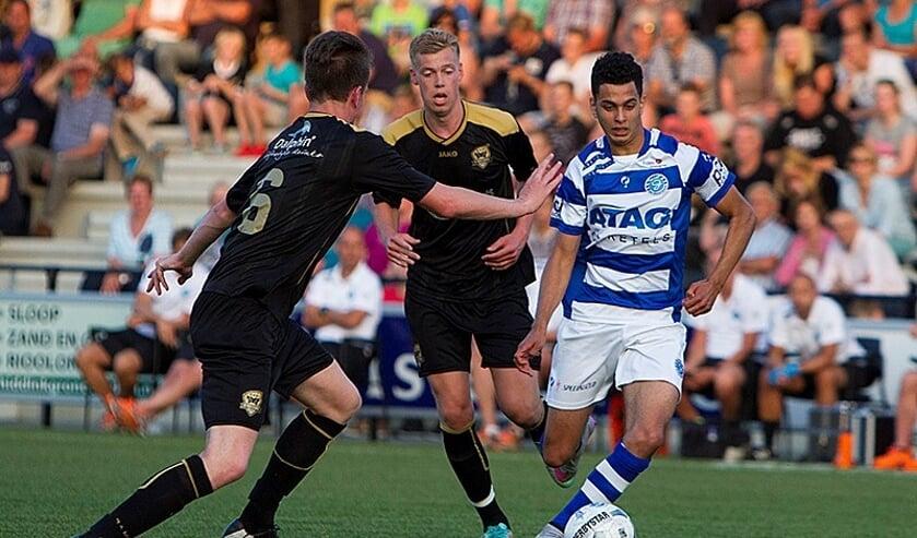 Osama Ben Kaddour wil met Sportclub Genemuiden de stap maken naar de derde divisie
