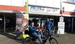 Gait Rigter vergroot de mobiliteit met driewielfietsen