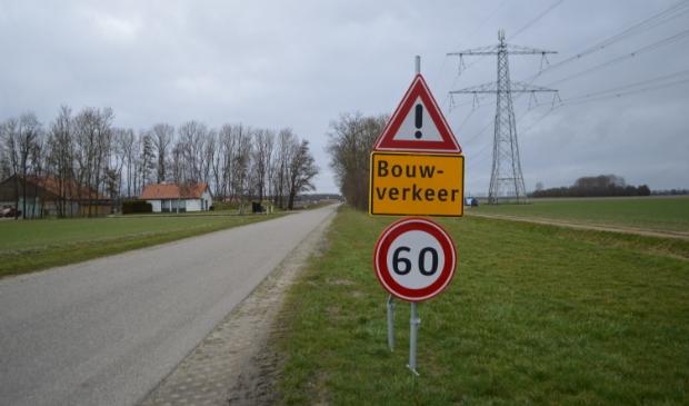 Windplan Blauw is al druk aan het werk aan de Visvijverweg.