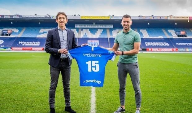 Bram van Polen gaat zijn vijftiende seizoen in bij PEC Zwolle.