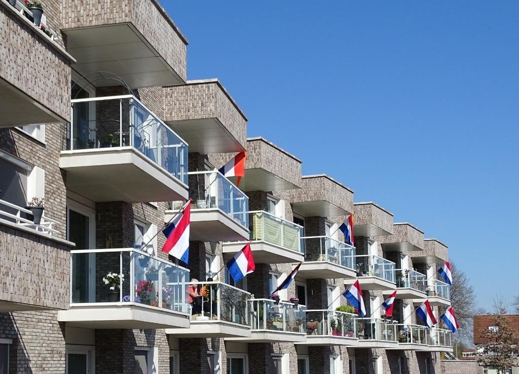 ... en nog meer vlaggen. Jelle Stellingwerf © BrugMedia
