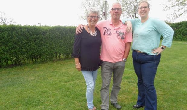 <p>V.l.n.r. Pia, Jan en Marjolein Bos kijken alle drie terug op een &#39;prachtige tijd&#39;.</p>