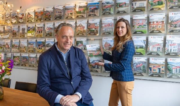 <p>Edwin van Vilsteren en Daimy de Hoog.</p>