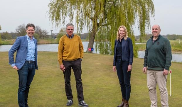 <p>Jelle Paauw, Toon Kannekens, Anje Boogerd en Cor van der Weerd stonden aan de basis van de samenwerking. </p>