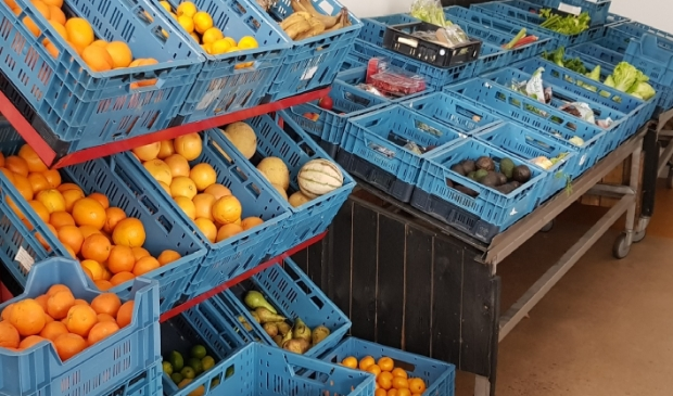 Groente- en fruitafdeling Voedselbank