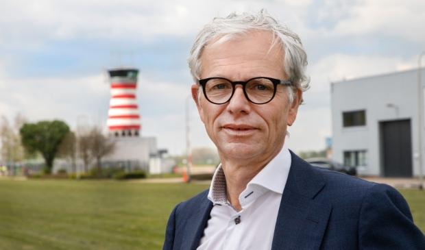 <p>Dirk Jan Verdoorn, voorzitter van de Bedrijfskring Lelystad </p>