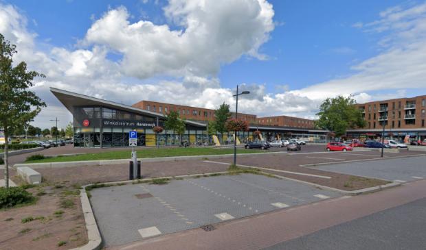 Winkelcentrum Hanzewijk in Kampen.