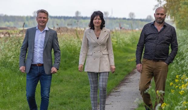 Hans Wichink, Karin de Jonge en Stephan de Clerck.