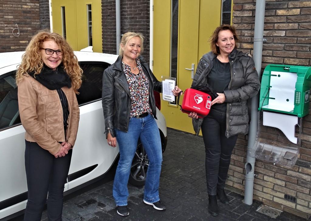 V.l.n.r.: Yvette van Overbeek - Hoornstra, Petra van de Cingel en Germa van der Wel Jelle Stellingwerf © BrugMedia